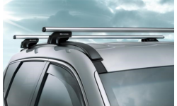 Barres de toit en aluminium Santa Fe DM