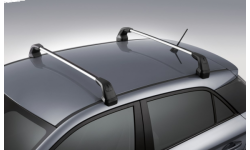 Barres de toit en aluminium i20 coupé GB