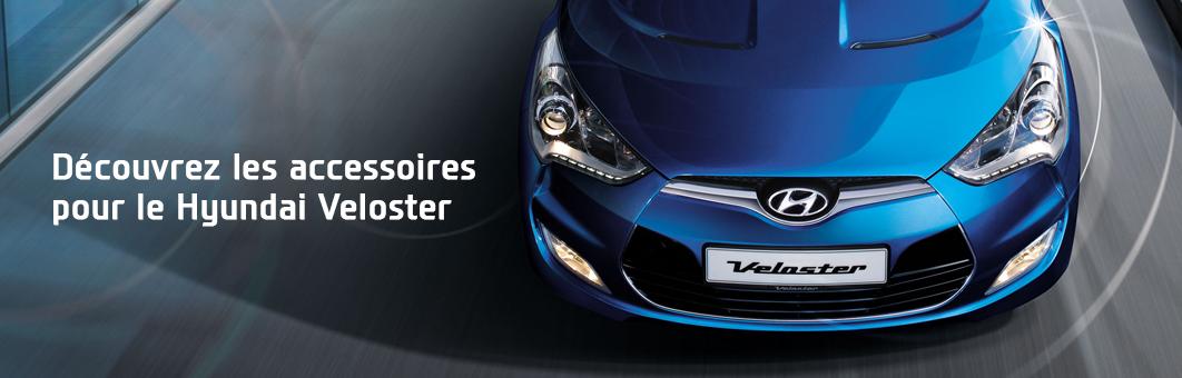 Découvrez la gamme d'accessoires pour le Hyundai Veloster.
